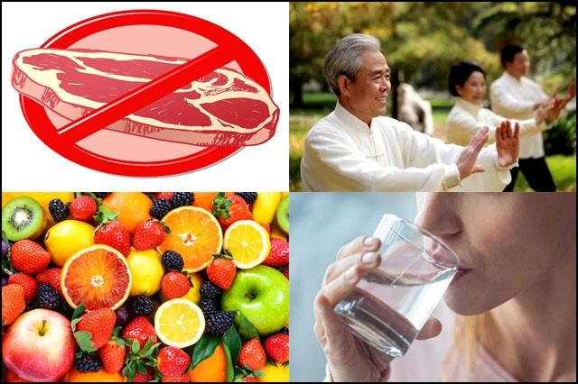 Thay đổi chế độ ăn lành mạnh để cải thiện sức khỏe của lá gan