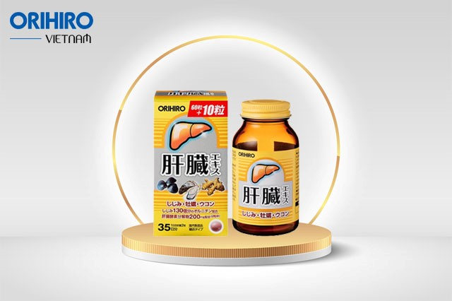 Sản phẩm viên uống bổ gan Shijimi Orihiro được nhiều người tin dùng