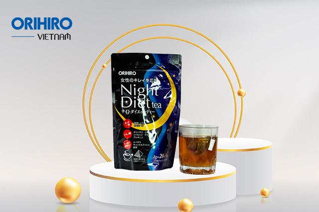 Trà giảm cân Night Diet Tea Orihiro 24 gói