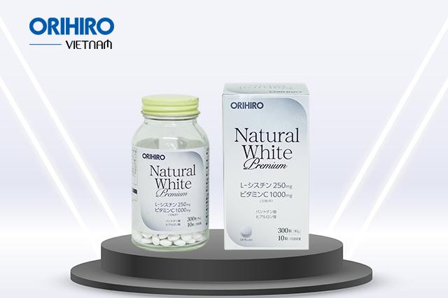 Viên uống trắng da của Nhật loại nào tốt nhất? Natural White Premium Orihiro