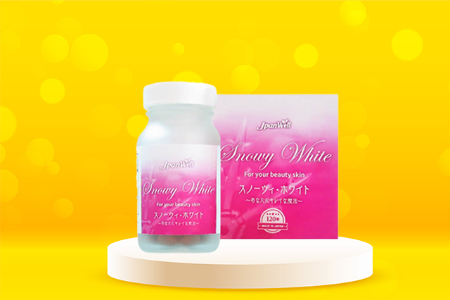 Viên uống trắng da của Nhật loại nào tốt nhất thì không nên bỏ qua Snowy White